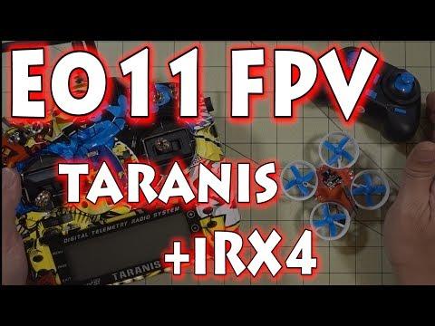 Eachine E011 + FPV + Taranis