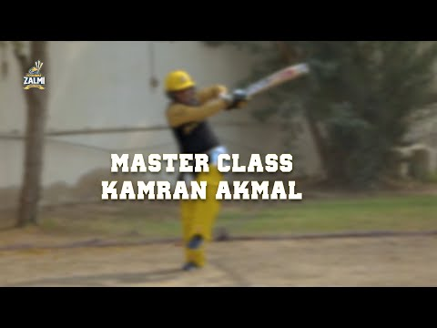Master Class | Kamran Akmal | Pull Shot