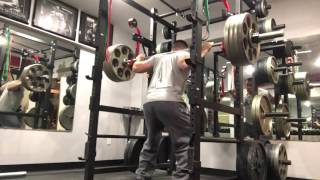 410 lb Squat New PR May 3, 2016