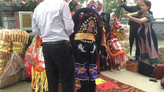 Lễ Tiễn Quan Công về Trung Quốc-Tại đỉnh núi Ba Vì.Ngày 13/7/2017