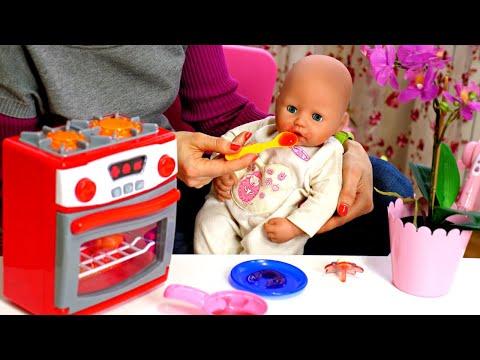 Baby Annabelle Puppe. 3 Videos am Stück. Spielspaß mit Puppen.