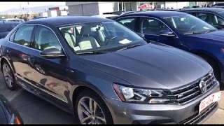 Обзор автомобиля Volkswagen Passat B8 R-Line 2017 1.8