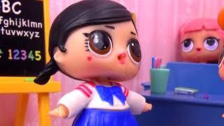 РЕВНОСТЬ или НОВАЯ ПОДРУГА Куклы ЛОЛ LOL Surprise видео для детей Вероничка Lalaloopsy
