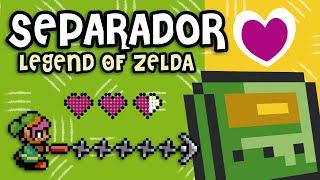 Pixelexip 05 :: Crea un separador de Legend of Zelda con tus Hama Beads