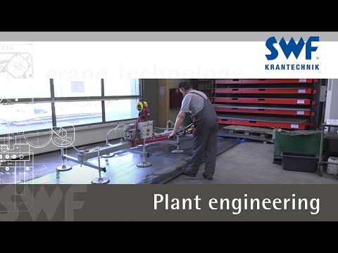 Efficient crane technology for machinery construction and plant engineering