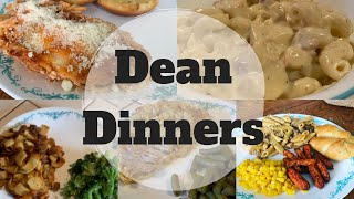 #whatsfordinner || Dean Dinners || COOK WITH ME!