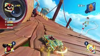 Team Sonic Racing (PC) - Shadow Team Whale Lagoon [4 Laps HD 2K]