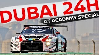 Can a Gran Turismo gamer race cars for real?! GT Academy - 2017 Dubai 24 Hour Special (Subtitled)