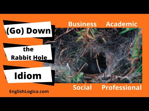 Down The Rabbit Hole - Idiom