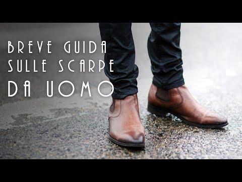 Le scarpe da uomo