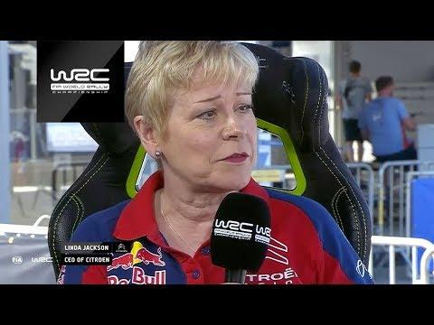 WRC 2019: Linda Jackson (CEO Citroën)