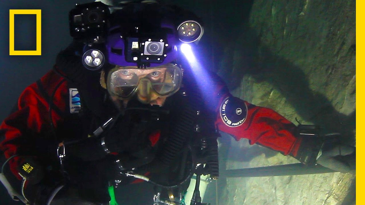 First Look: Go Inside the World's Deepest Underwater Cave   National Geographic thumbnail