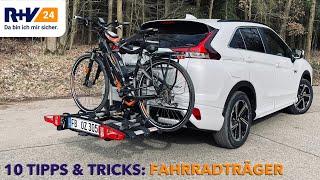 10 Tipps und Tricks:  Fahrradträger   Fahrradtransport mit dem Auto   R+V24 Ratgeber
