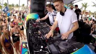 Disclosure Holy Ship 2014 Live Beach Party CLip