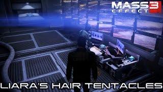 MASS EFFECT 3 - JOKER ASKS LIARA ABOUT HAIR TENTACLES