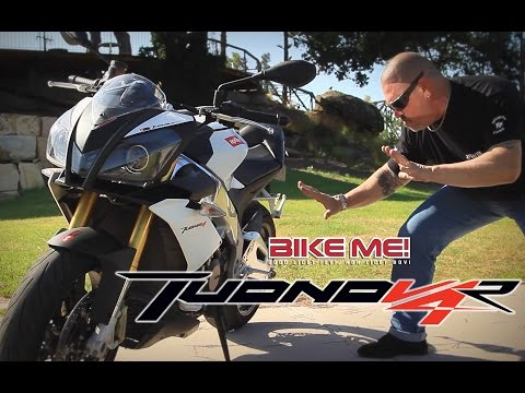 Aprilia Tuono V4 R Review - BIKE ME!