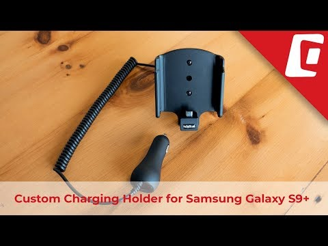 Play Video: Charging Holder with Cigarette Lighter Adapter