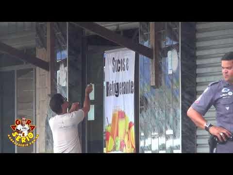 Fiscalização da Prefeitura de Juquitiba lacra o Bar e Restaurante Café Do Nino