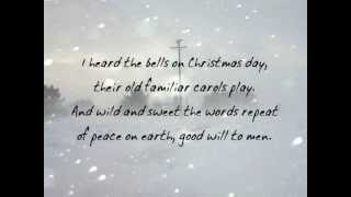 Christmas ECards Here is the 1864 American Christmas Carol I Heard the Bells on Christmas Day written by Henry