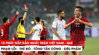 Khán Đài Online | 10 phút hấp dẫn nhật Việt Nam vs UAE  Chỉ cần 10 phút, người hâm mộ bóng đá Việt Nam đã trải qua quá nhiều cung bậc cảm xúc khác nhau!  #VietNamUAE #TiếnLinh -------------------------- THEO DÕI CHÚNG TÔI ĐỂ XEM NHỮNG VIDEO MỚI NHẤT. Facebook chính thức: facebook.com/khandaionline.vn Youtube chính thức: youtube.com/khandaionline