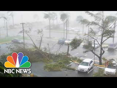 Hurricane Maria Pummels Puerto Rico With Powerful Winds   NBC News