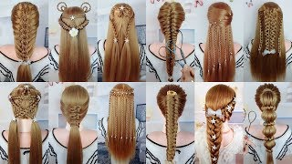 28 Easy & Beautiful Hairstyles For Long Hair #98 | Braided Hairstyles For Girls