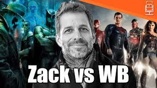 WB Screwed Justice League & are Blaming Zack Snyder
