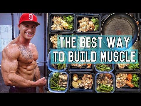 The Perfect Muscle Building Diet | 3400 Calorie Lean Bulk Meal Plan