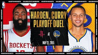 Harden & Curry Duel In Playoff Showdown   #NBATogetherLive Classic Game