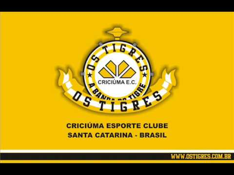 """""""Os Tigres - Quando Estou no Majestoso"""" Barra: Os Tigres • Club: Criciúma"""
