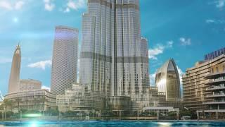 burj khalifa free stock video footage   Royalty Free Footages