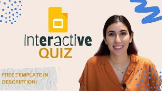 Create an Interactive Quiz Using Google Slides (FREE TEMPLATE INCLUDED!)