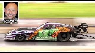 "TRIBUTE TO THE LATE ROBERT ""BOBBY D"" D'ANDREA - PERSONAL BEST 3.93@200 - RON POTENZA'S PRO MOD VETTE"