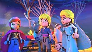 Disney ЛЕГО Холодное сердце - Северное Сияние | Обновление северного сияния | серия 4