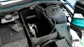 Установка аккумулятора Global65JR+ на Mazda3 1.6i