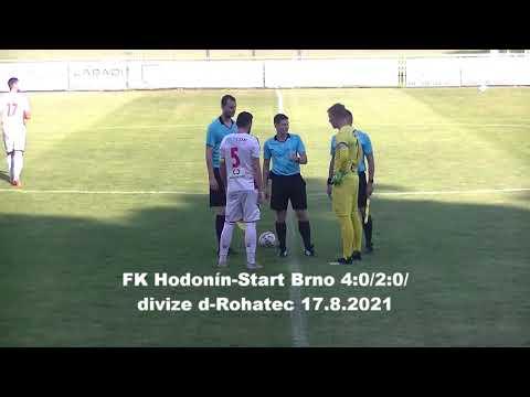 muži: FK Hodonín - Start Brno 4:0   15.08.2021