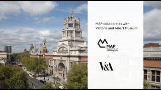 MAP + Victoria and Albert Museum