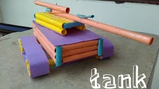 How to Make a Amazing Paper Tank - Easy Learning - toy for kids
