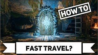 GOD OF WAR 4 | HOW TO UNLOCK FAST TRAVEL | FAST TRAVEL IN BOTH DIRECTIONS EXPLAINED