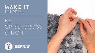 EZ Knitting: The Criss Cross Stitch