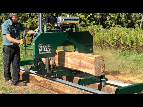 video thumbnail for HM126 Portable Sawmill