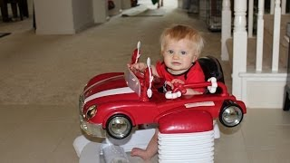 Combi Red Convertable Car Walker Entertainer Review & Demo