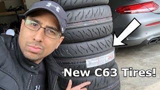 My New C63s Tires Are In! (Bridgestone RE-71R)
