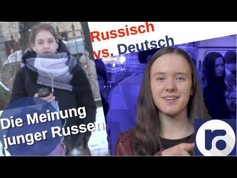 Die Meinung der jungen Russen [Video]