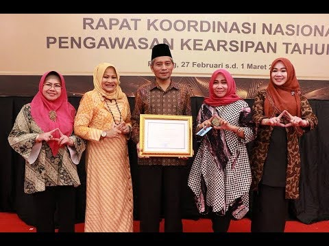 Pemko Pekanbaru Raih Penghargaan Kearsipan Tingkat Nasional