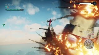 Just Cause 4 2018 Game Play Commentry Part 4 Game Play WE BLOW UP BLIMP with our HELICOPTER