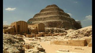 Видеофрагмент пирамиды Джосера. Тайна первой пирамиды Египта