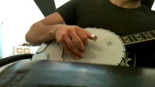 """""""16 Horsepower - Praying Arm Lane"""" on banjo"""