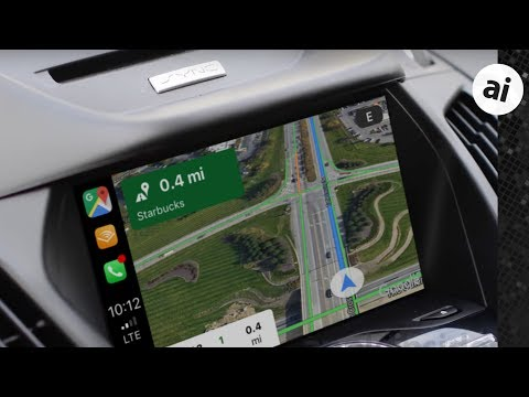 Hands On Google Maps In Carplay Fights Apple Maps For Your