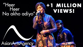BEST OF HARSHDEEP KAUR | HEER LIVE | ASIAN ARTS AGENCY